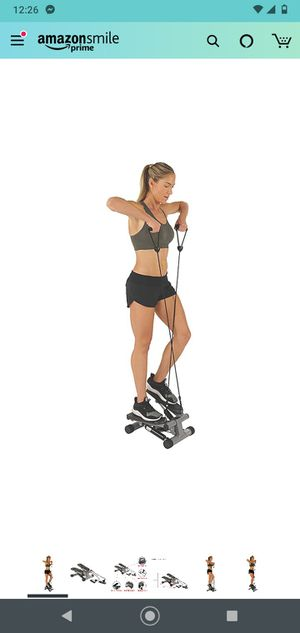Sunny Health & Fitness Mini Stepper with Resistance Bands for Sale in Wheaton, MD