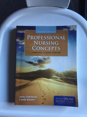 Professional Nursing Concepts: Competencies for Quality Leadership for Sale in Claremont, CA