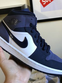 Jordan 1 Mid Obsidian Sanded Purple for Sale in Newport Beach,  CA