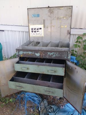 Large steel rolling tool box for Sale in Rosebud, MO