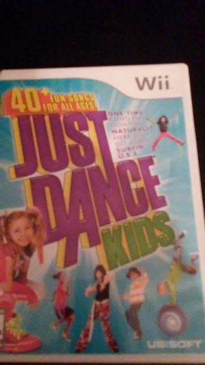 JUST DANCE KIDS (Nintendo Wii + Wii U) for Sale in Lewisville, TX