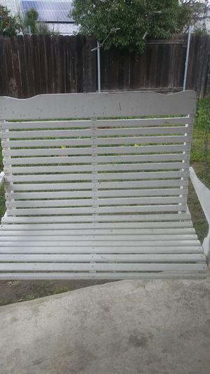 Outdoor porch swing for Sale in Rialto, CA