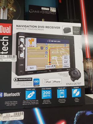 Dual tech double din radio with navigation and Bluetooth for Sale in Orlando, FL