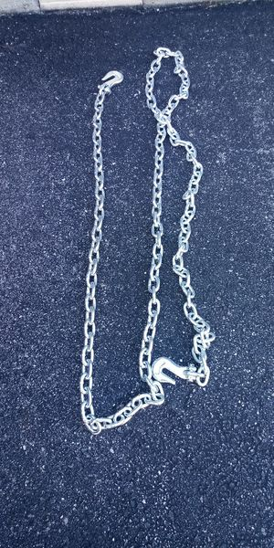 "New 14' 3/8"" grade 43 towing chain for Sale in Newport News, VA"