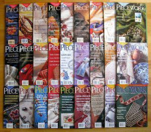 Huge Lot 27 Piecework Magazines - knitting, sewing, embroidery, lace for Sale in Steilacoom, WA