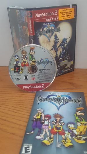 Ps2 kingdom hearts greatest hits disney for Sale in Huntingdon Valley, PA