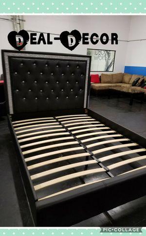 Black Platform Bed for Sale in Marietta, GA