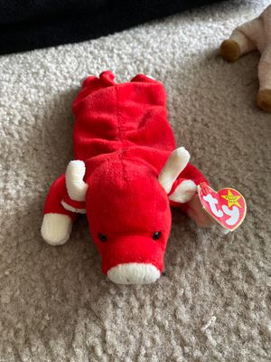 Snort the bull beanie baby for Sale in Toms River, NJ
