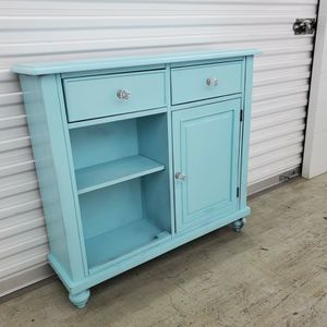 Shabby Chic Teal Display / Entryway Table for Sale in Lexington, KY