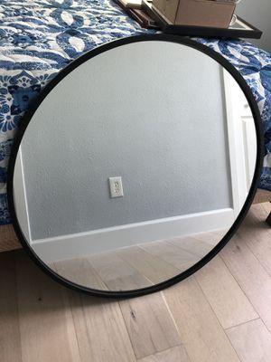 Black Trim circular Wall Mirror for Sale in Orlando, FL