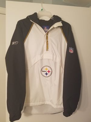 REEBOK size med mens winter Steeler Coat for Sale in Hampton Township, PA