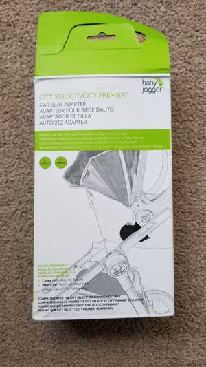 Baby jogger City Select/City Premier car seat adapter for Sale in Carmichael, CA