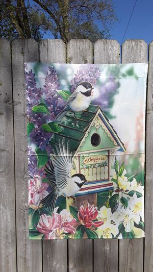 Decorative Yard Flag— (#5 Chickadee Ln.) for Sale in Detroit, MI