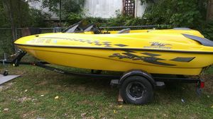 Sugar sand tango made by ski doo 240 hp the fastest jet boat ever mass production 0 to 60 in 5 sec its quick for Sale in Flint, MI