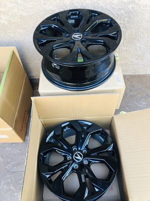 Acura OEM Black Accessory Wheels for Sale in San Diego, CA