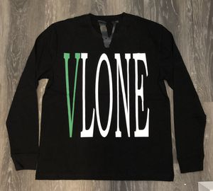 Vlone Staple Long Sleeve Tee Green on Black - Size L for Sale in Parkersburg, WV