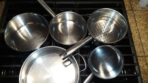 Stainless steel pots for Sale in Whittier, CA