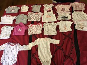 Baby girl Onesies. (0-9 Months) for Sale in Glenn Dale, MD