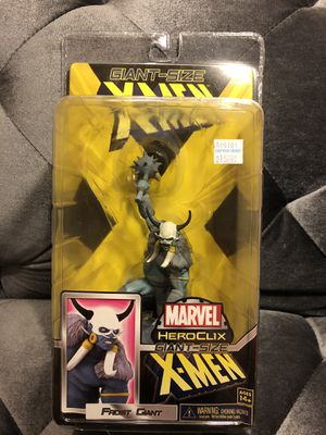 Marvel Heroclix Frost Giant Super Booster Figure #G12 Giant-Sized X-Men New for Sale in Fresno, CA