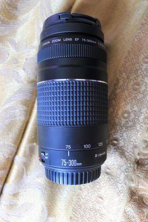 canon 75-300 iii f/4-5.6 lens for Sale in Miami Beach, FL