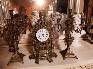 Antique clock set for Sale in Cape Coral, FL