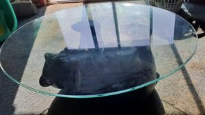 Glass Bear Table for Sale in Fresno, CA