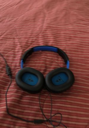 Turtle Beach headset no mic but it works good for Sale in Fresno, CA