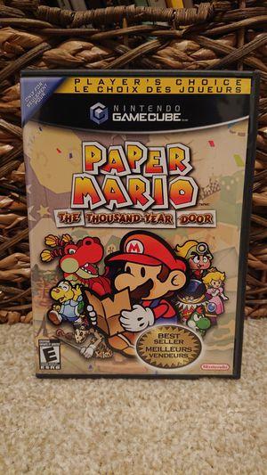 GameCube - Paper Mario: The Thousand Year Door for Sale in Redmond, WA