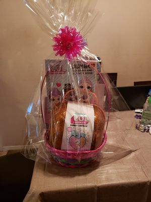 Easter baskets Lol surprise for Sale in San Antonio, TX