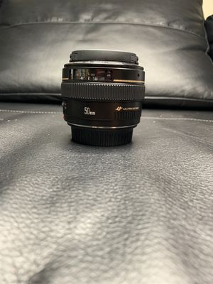 Canon 50mm 1.4 USM for Sale in Lutz, FL