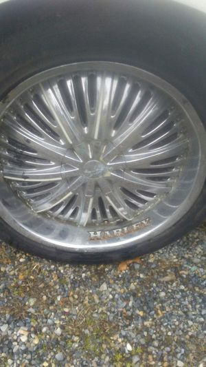 """22"""" tires an rims for Sale in Washington, DC"""