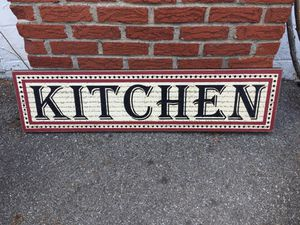 Large kitchen sign for Sale in Pittsburgh, PA