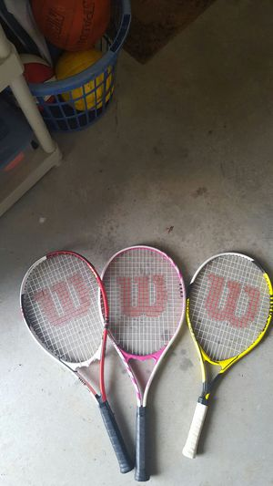 Wilson tennis rackets for Sale in Raleigh, NC