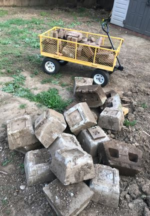 Concrete Blocks and few pavers for Sale in Vacaville, CA