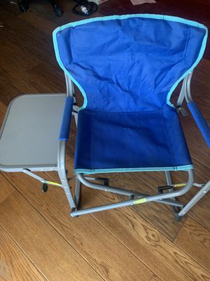 Kids folding chair with table for Sale in Selma, CA