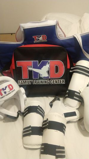 Take Kwon do sparring gear pads for Sale in Chino Hills, CA