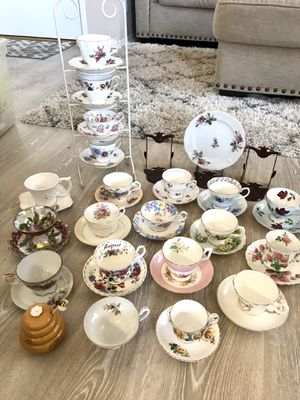 Antique Bone China Teacups for Sale in Los Angeles, CA