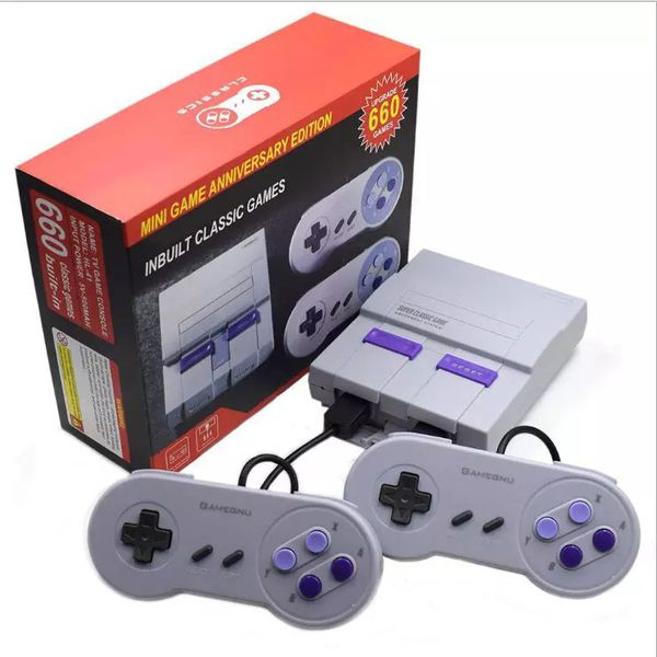 Retro Super Classic Game Mini TV 8 Bit Family TV Video Game Console Built-in 660 Games