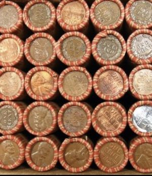 Huge (6) Six Rare (High Grade Ends) Premium Bank 1909-58 Wheat Penny Rolls- ALL Rare Dates Possible/ From Old Estate Sale Find for Sale in Fairfax, VA