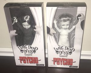 New Living Dead Doll Psycho $100 for both for Sale in Port St. Lucie, FL