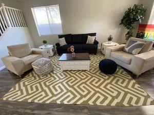 Modern meet rustic living room set for Sale in Laveen Village, AZ