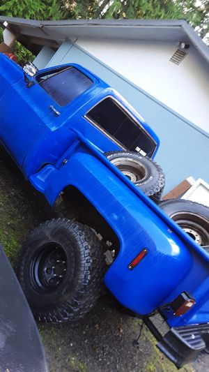 1977 step side chevy square body sbc for Sale in Poulsbo, WA