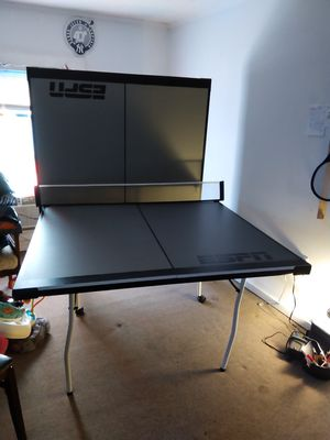 Brand new ESPN regulation Ping Pong Table. for Sale in Marathon, NY