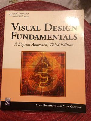 Visual Design Fundamentals Book for Sale in Pomona, CA