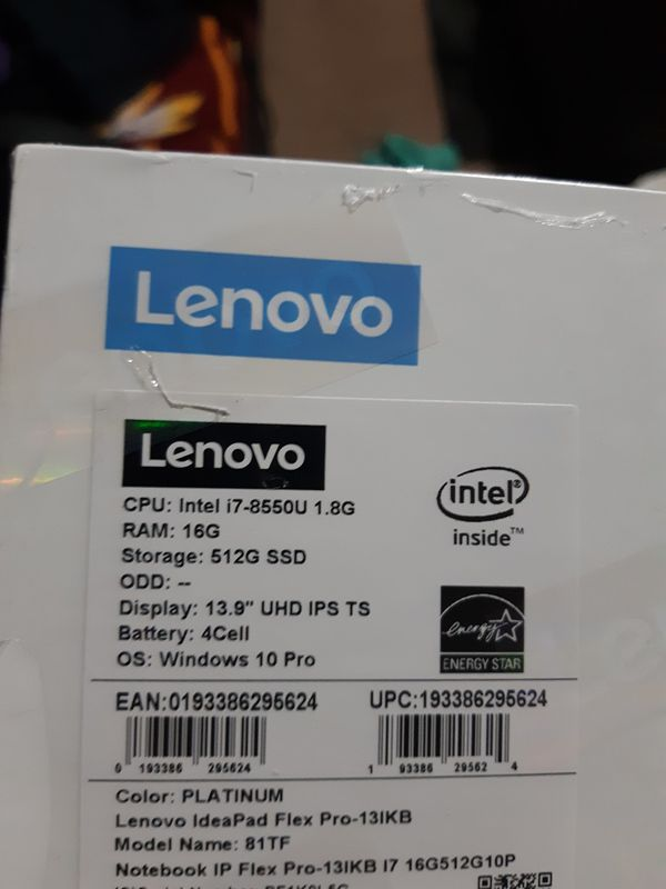 lenovo flex pro 13ikb 2-N-1 laptop