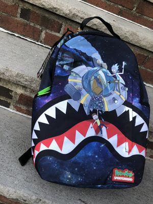 """SPRAYGROUND RICK AND MORTY """"CRASH"""" for Sale in Queens, NY"""