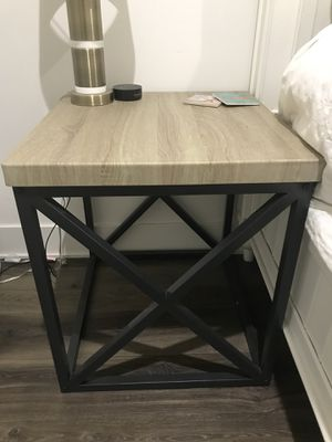 Two end tables with matching coffee table for Sale in Santa Monica, CA