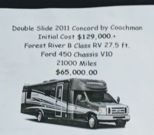 2011 Concord by coachman RV for Sale in Fairlawn, OH
