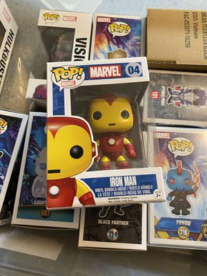 Funko POP Vision and Iron Man for Sale in Seattle, WA