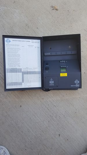 PELCO CCTV CAMERA POWER SUPPLY for Sale in Escondido, CA
